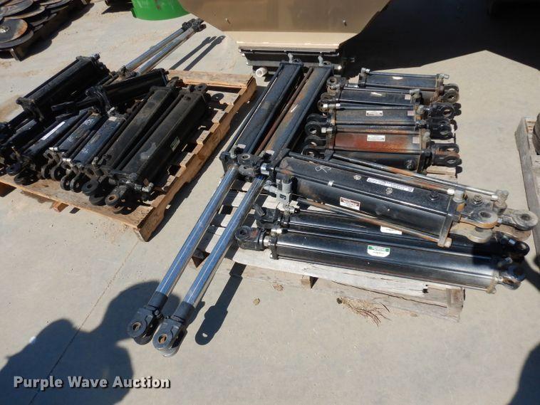 (10) hydraulic cylinders