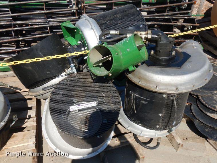 (5) Crary hydraulic fans