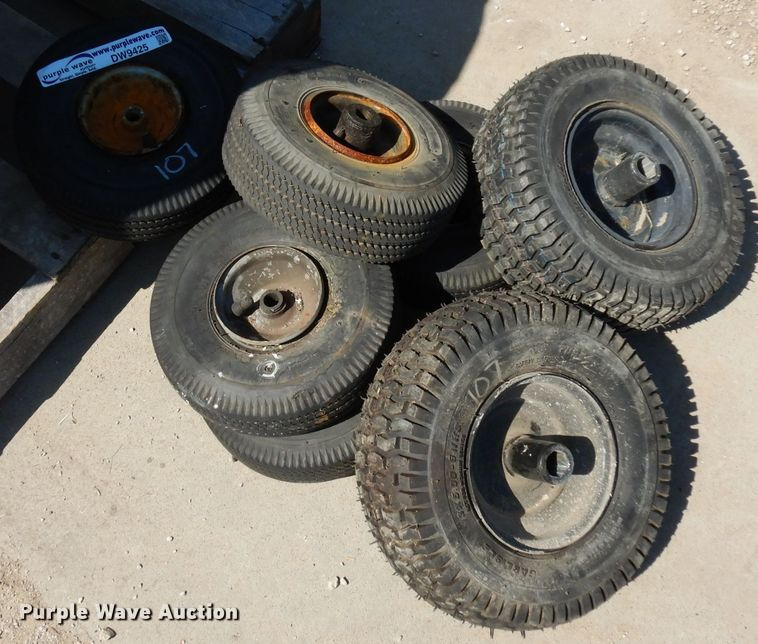 (7) tires and wheels