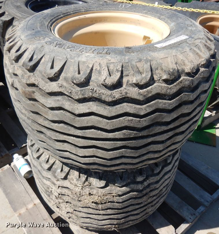 (2) 480/45-17 IMP tires and wheels