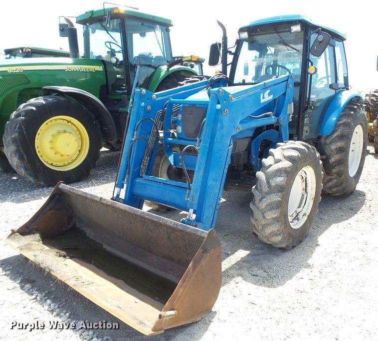 LS P7030C MFWD tractor