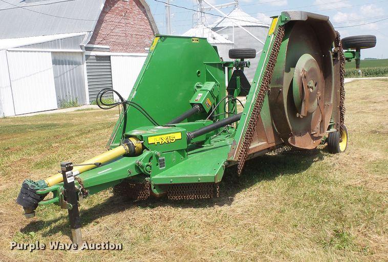 John Deere HX15 batwing rotary mower