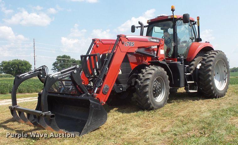 2013 Case IH Magnum 210 MFWD tractor