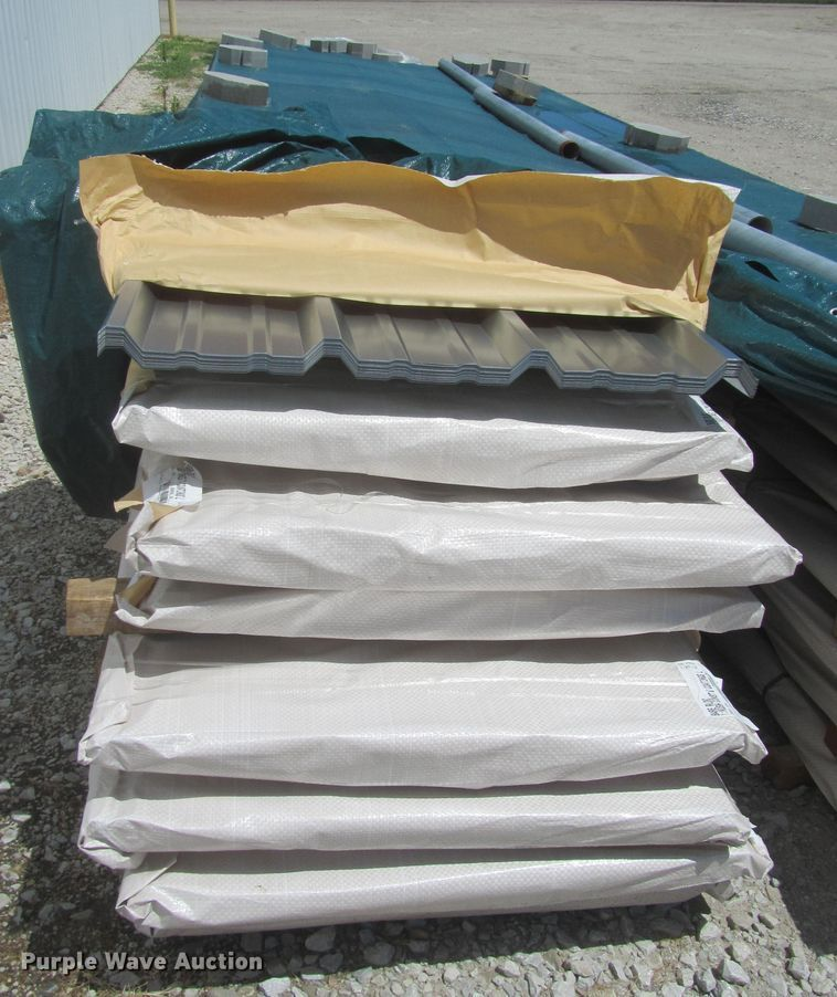 (120) sheets of metal siding/roofing