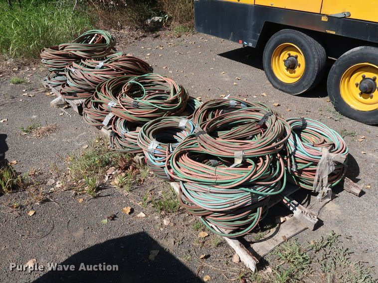 Approximately 50 twin-line acetylene torch leads