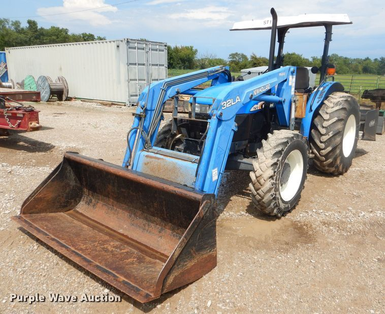 New Holland TN70 tractor