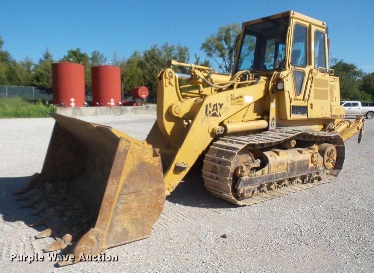 1997 Caterpillar 963B track loader
