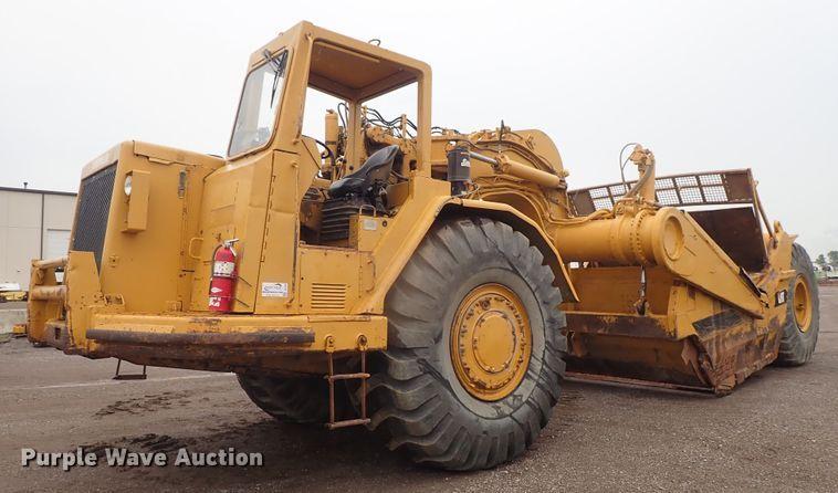 1988 Caterpillar 631E conventional scraper