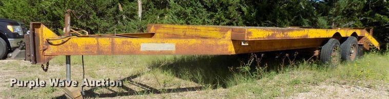 1974 Carrier King 1200 equipment trailer