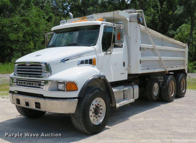 2004 Sterling Acterra dump truck