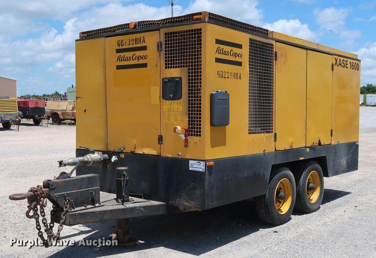 2005 Atlas Copco XASE1600 air compressor