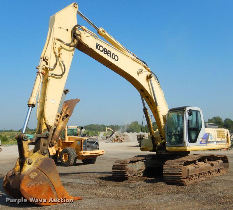 2005 Kobelco SK330LC excavator