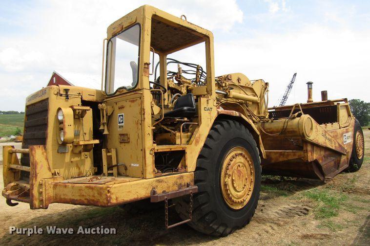 1974 Caterpillar 627B conventional scraper