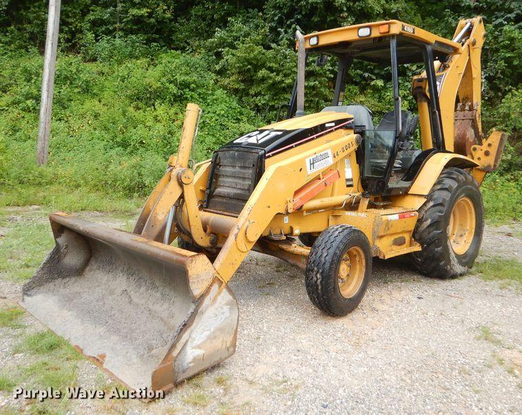 2005 Caterpillar 416D backhoe