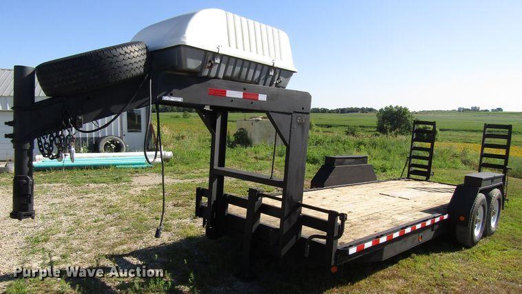 2002 Trotter equipment trailer