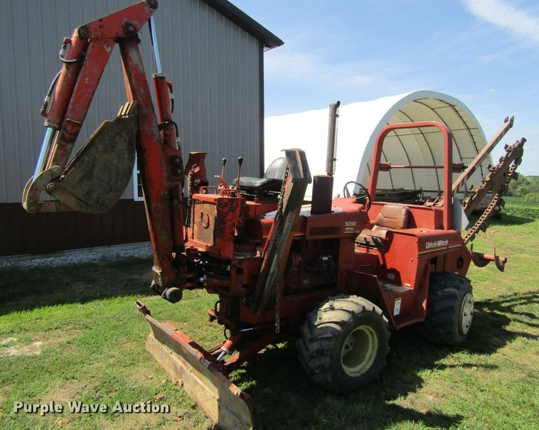 1989 Ditch Witch 5010 trencher