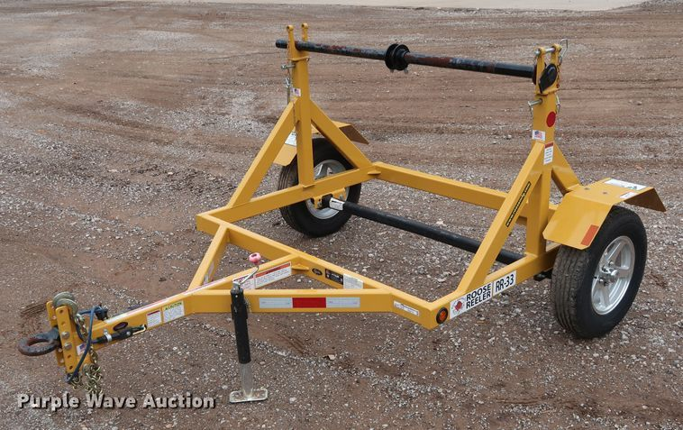 2017 MD Products & Solutions Roose Reeler RR-33 reel trailer