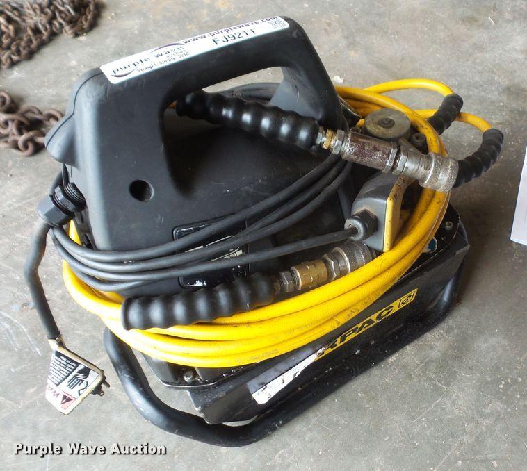 Enerpac 350-7768 hydraulic power unit