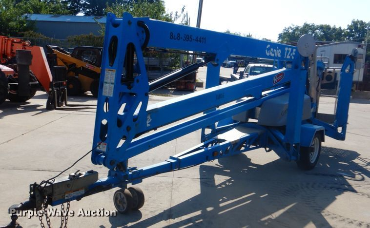 2015 Genie TZ-50 boom lift