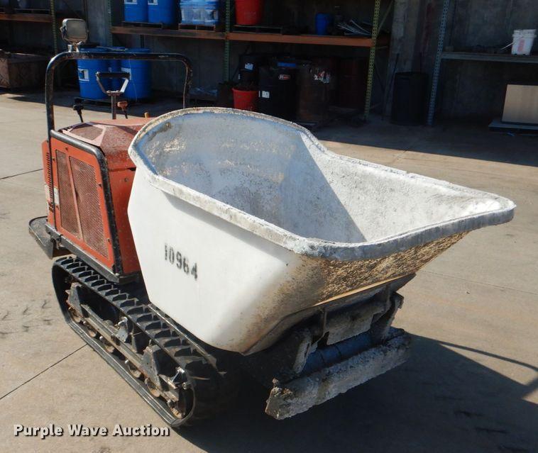 Caneycom SC75 concrete buggy