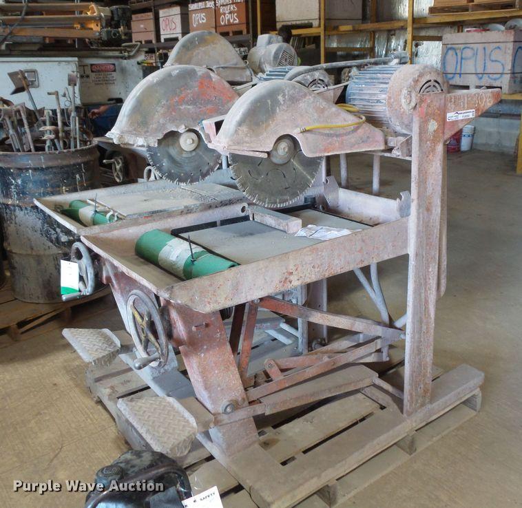 (2) brick saws
