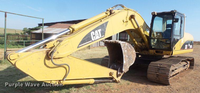 2005 Caterpillar 320C L excavator