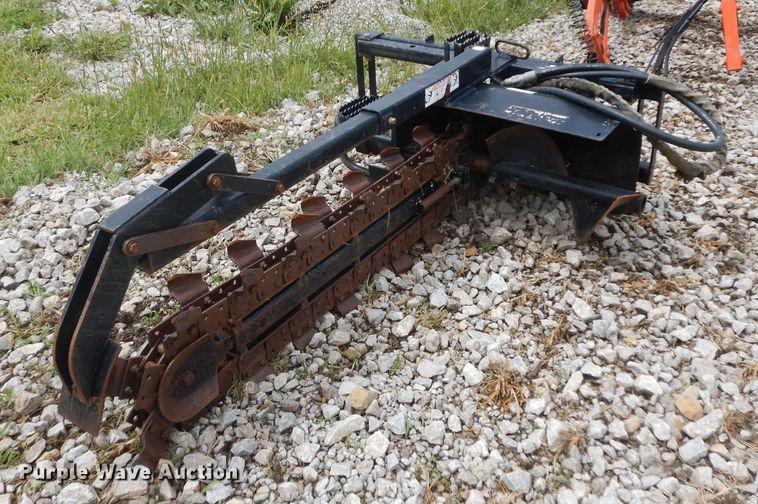 John Deere TR48B trencher