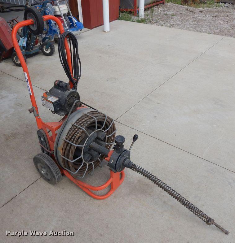 Speedrooter 92 sewer rodder