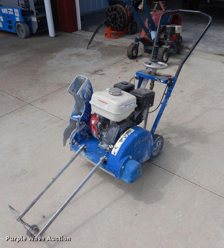 Pro-cut YMM28 concrete saw