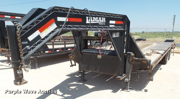 2013 Lamar equipment trailer