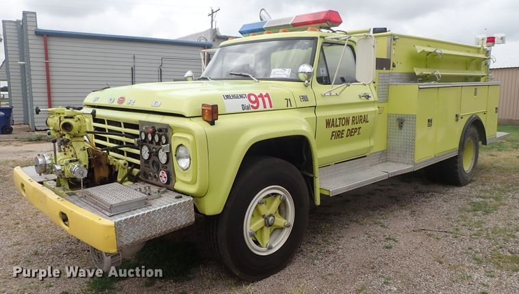 1978 Ford F700 fire truck