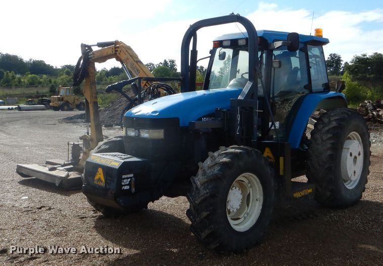 2000 New Holland TM115 MFWD tractor