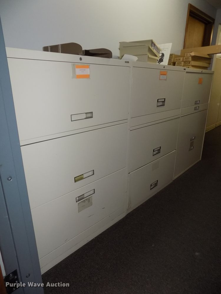(5) file cabinets