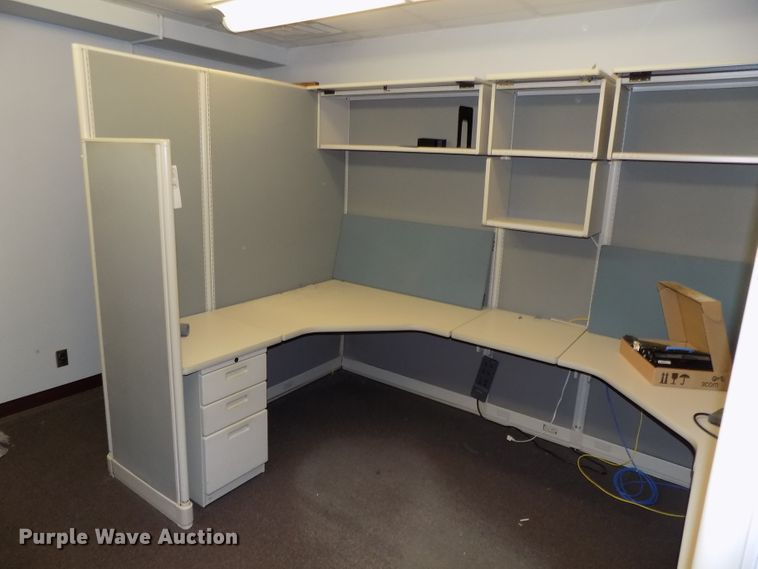 (2) set of cubicles
