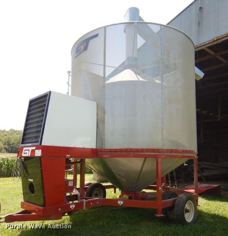 2017 GT 545XL recirculating grain dryer