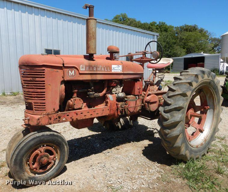 1944 International Farmall M tractor