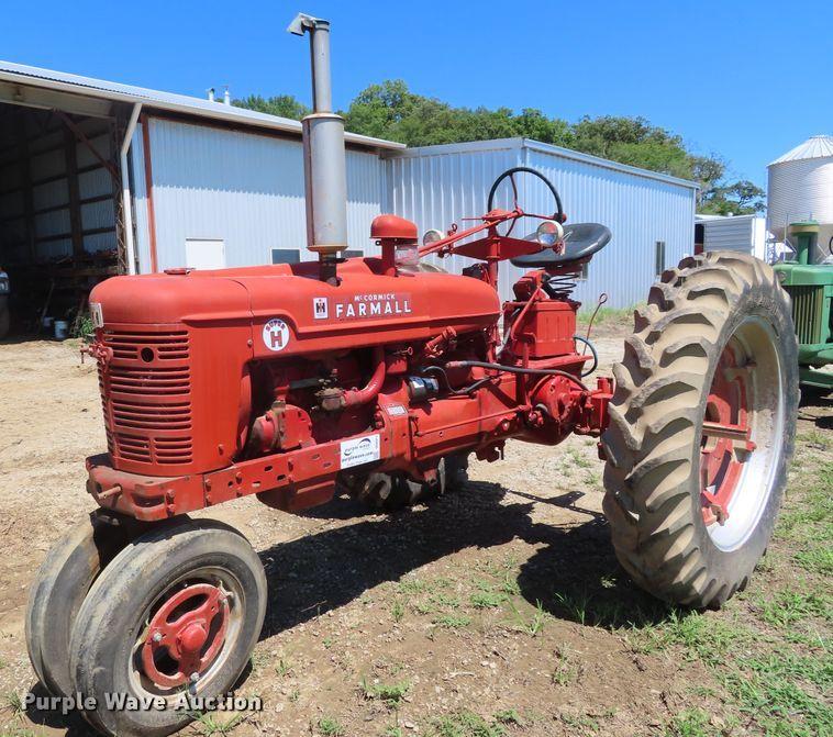 1953 International Farmall Super H tractor