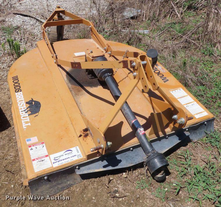 Woods BB60 rotary mower