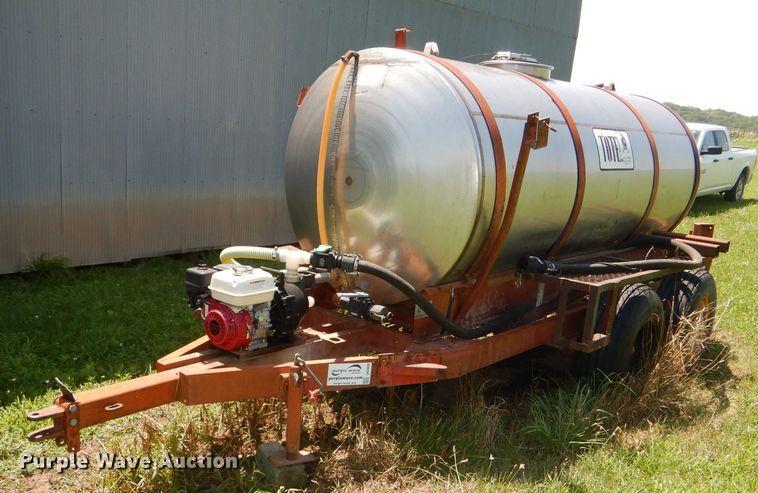 1977 Tote K1000 nurse tank trailer
