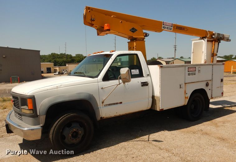 1994 GMC Sierra C3500HD bucket truck