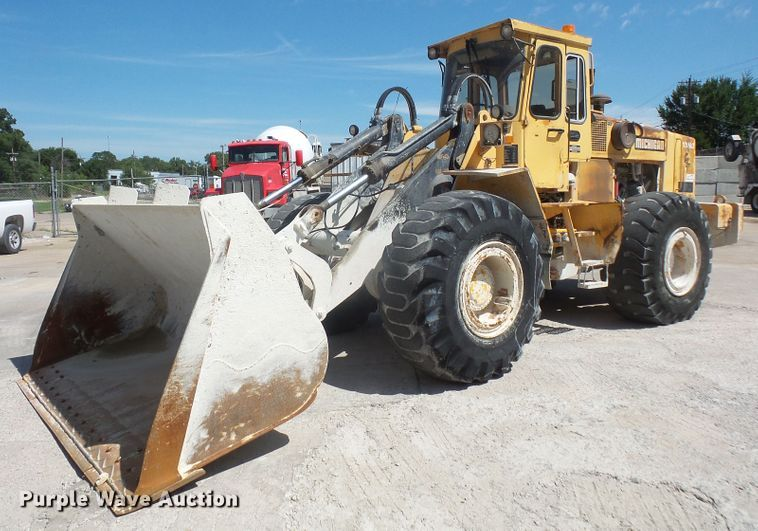 1992 Volvo Michigan L120 wheel loader