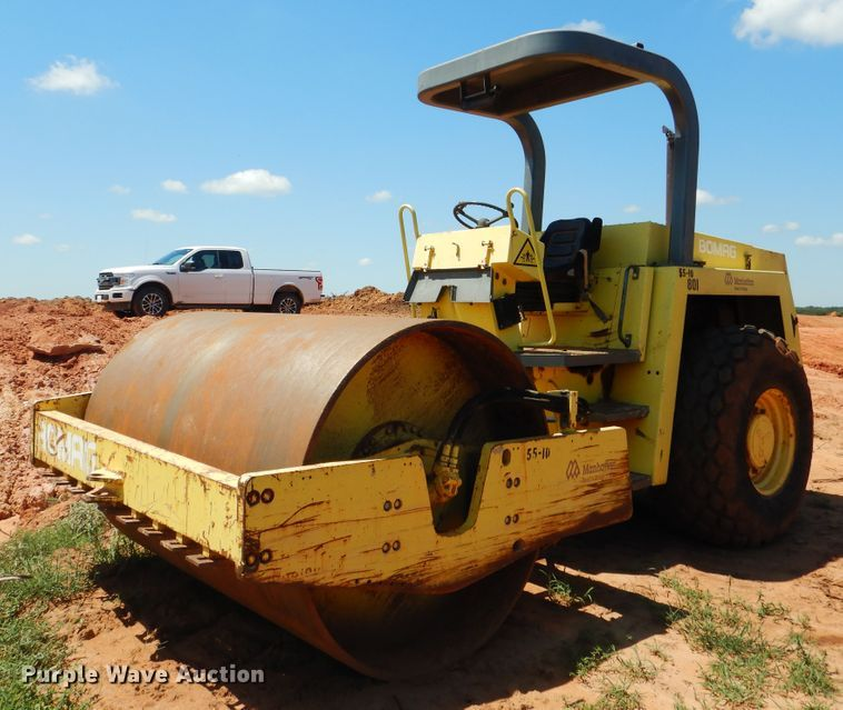 1990 Bomag BW213D-2 single drum vibratory roller