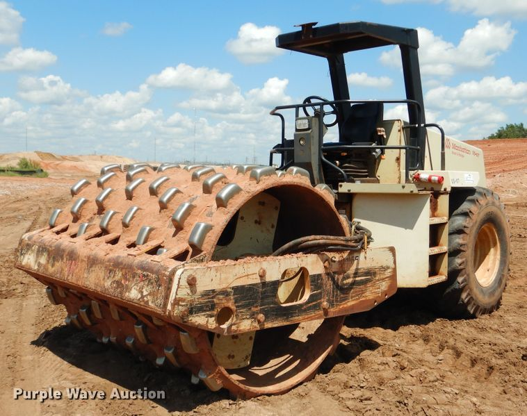 2003 Ingersoll Rand SD-115F PRO PAC single drum vibratory roller
