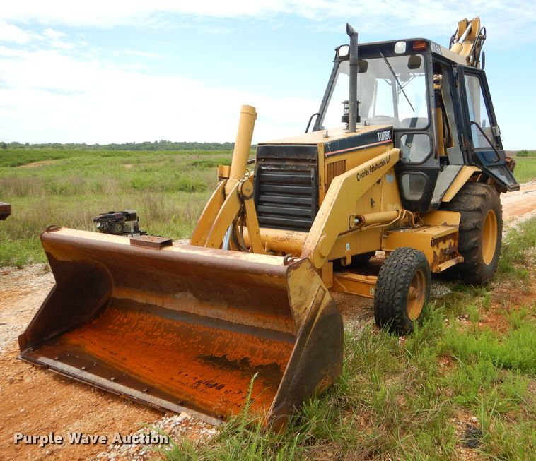 1995 Caterpillar 426B backhoe