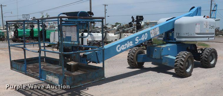 2008 Genie S-40