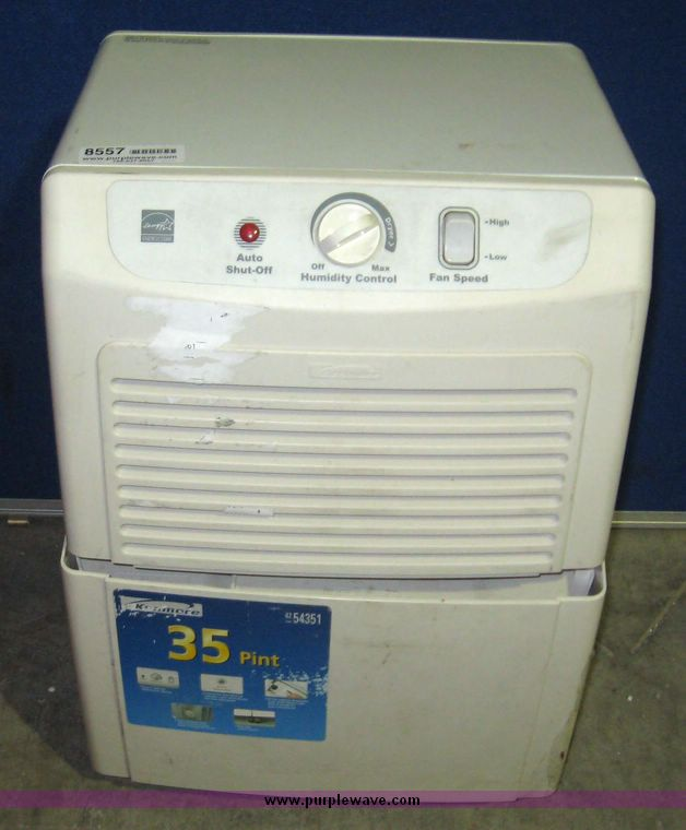 kenmore 35 pint dehumidifier. kenmore 35 pint dehumidifier model 580.54351501 condition 1. expand all. 8557 image for item .