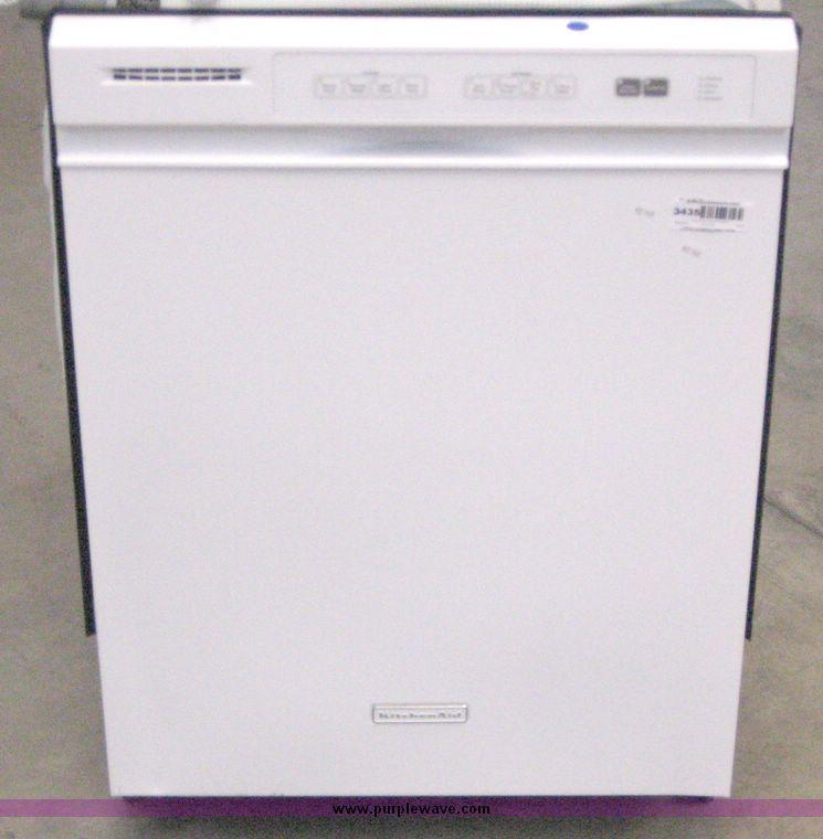 Kitchenaid Dishwasher White >> Item 3435 3 1 2008