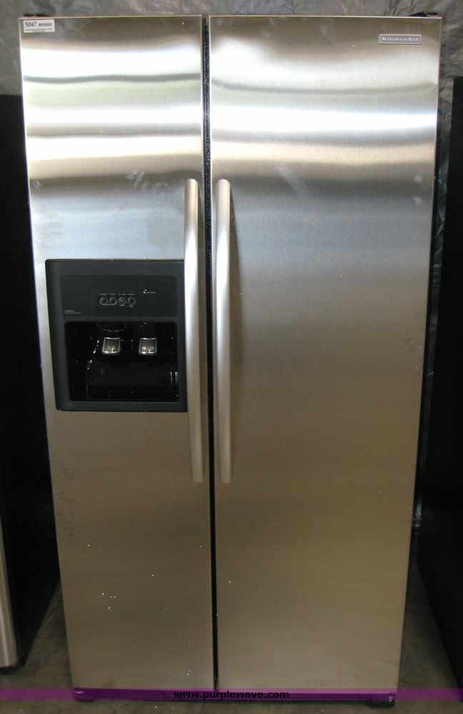 Kitchenaid Refrigerator Side By Side exellent kitchenaid counter depth siderefrigerator ft and