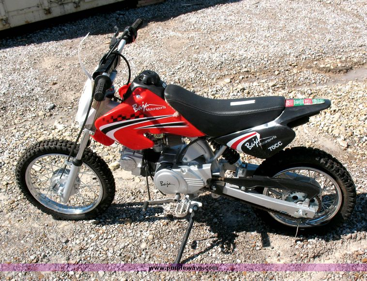 item 2434 sold july 15 derby internet only auction p rh purplewave com Baja 90Cc Dirt Bike Baja 70 Dirt Bike