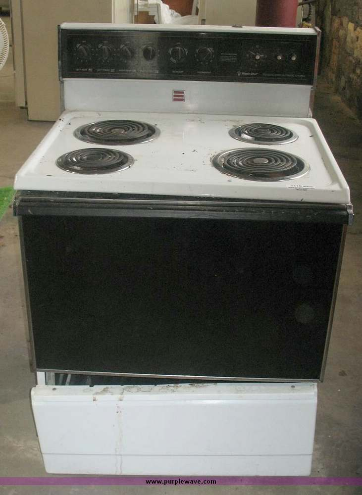 Magic Chef Electric Cooktop ~ Item sold october kansas multiple location int